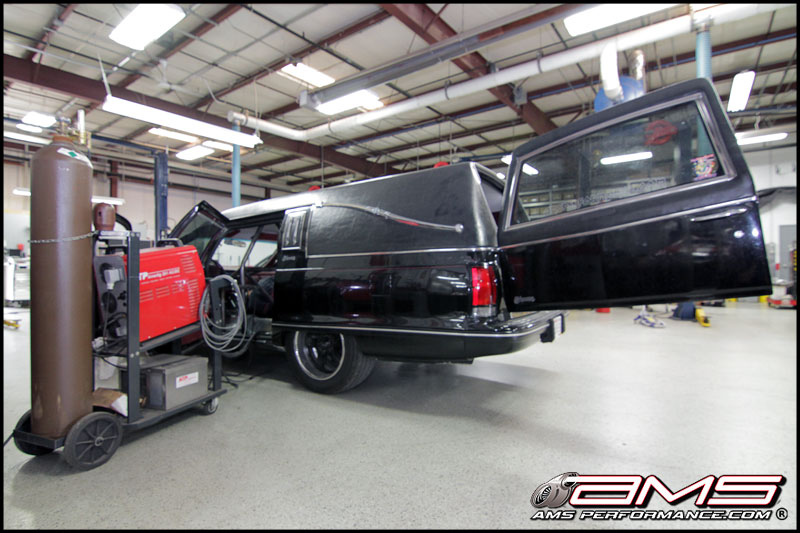 AMS Performance Maiden Hearse Project (Exhaust & Cage)
