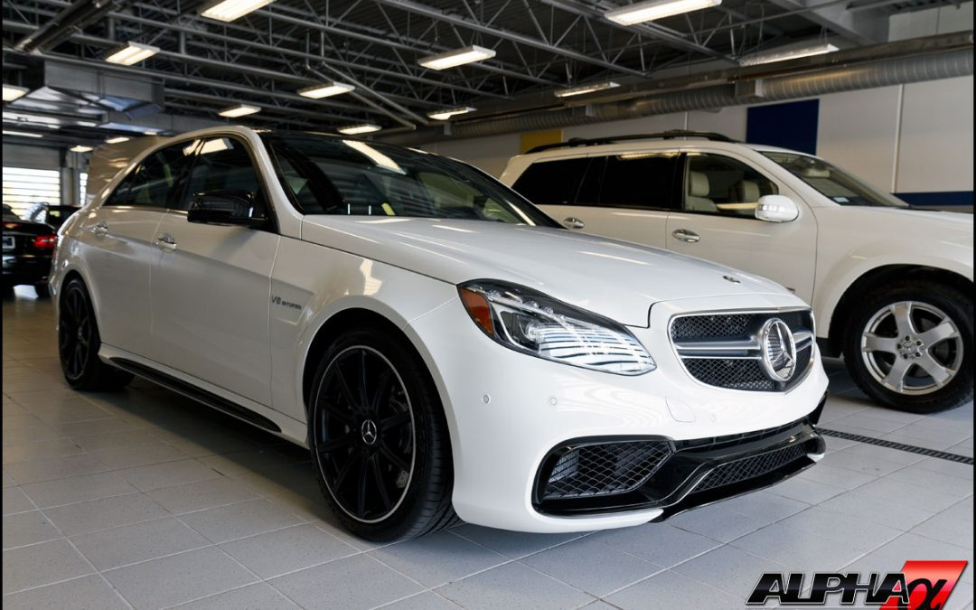 Our 2014 E63 AMG 4Matic Has Arrived!