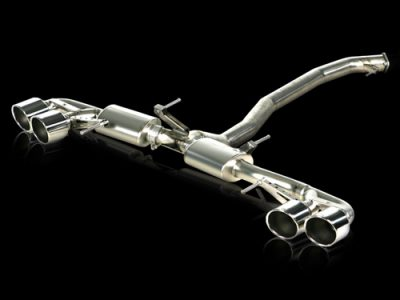 Akrapovic  Nissan R35 GT-R Titanium Slip-On Exhaust [M-NI/T/1H]