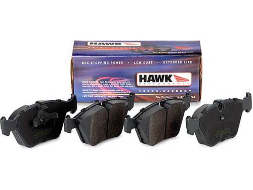 Hawk 08+ Subaru STI HPS Street Brake Pads (Rear)