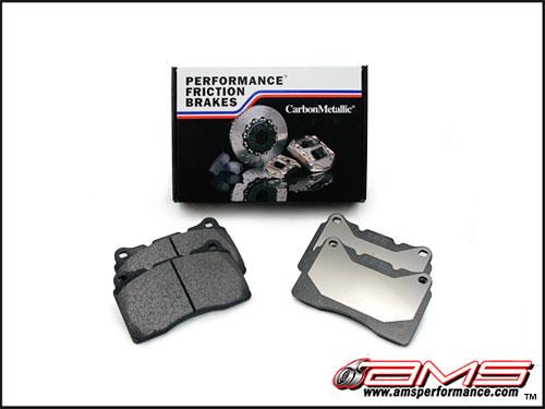 Performance Friction Nissan GT-R PF 01 Race Compounds Rear Brake Pads