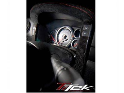 TiTek Nissan R35 GT-R Carbon Fiber Center Gauge Bezel (Gloss) [R35-1011W]