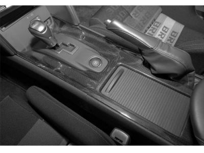 TiTek Nissan R35 GT-R Carbon Fiber Lower Shifter Bezel (Gloss) [R35-1013W]