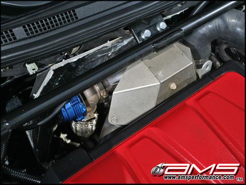 AMS Mitsubishi Lancer Evolution X 750XP Billet V-Band Turbo Kit