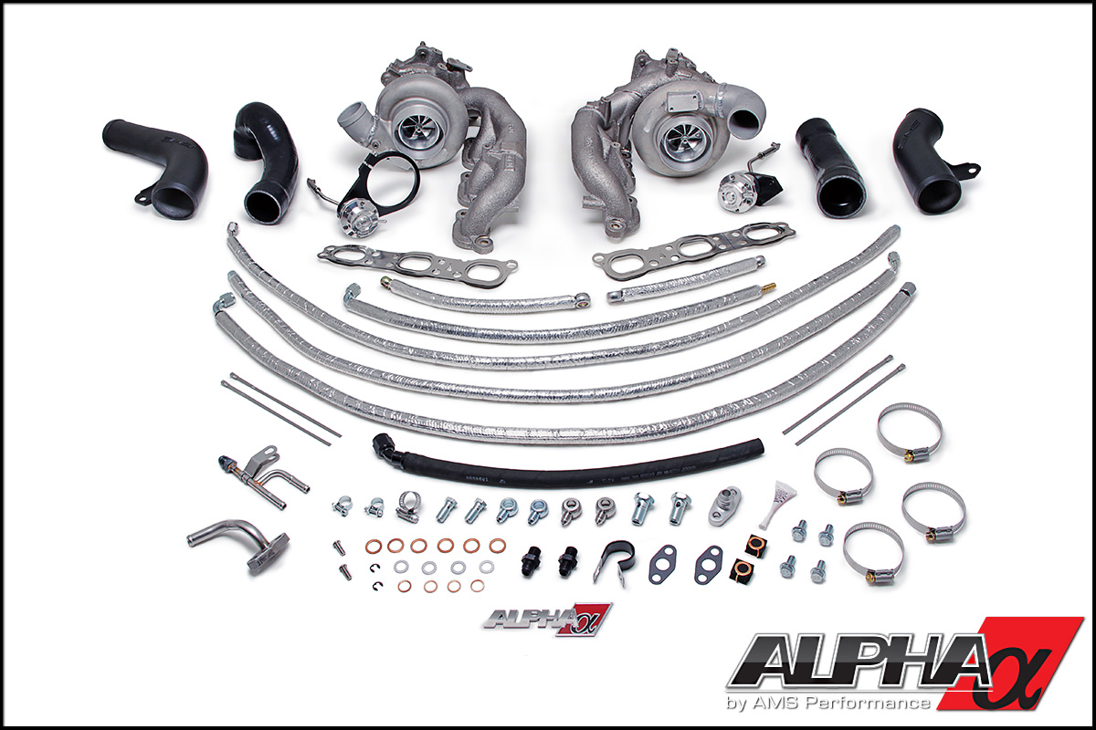 Alpha 9 R35 GT-R Bolt-On Turbo Upgrade