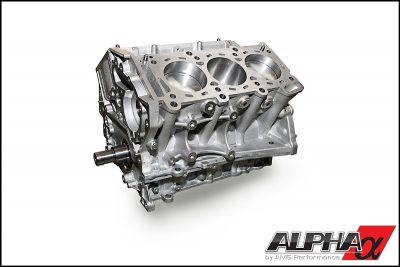 Alpha Performance Nissan R35 GT-R 4.1L VR38 Stroker Race Short Block