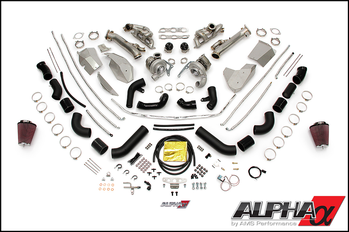 Alpha 10 R35 GT-R Turbo Kit