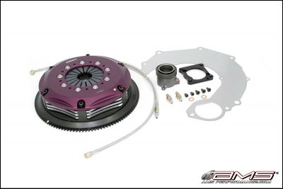 AMS/Exedy Mitsubishi Lancer Evolution IV/V/VI/VII/VIII/IX Push Style Triple Carbon HD Clutch Kit