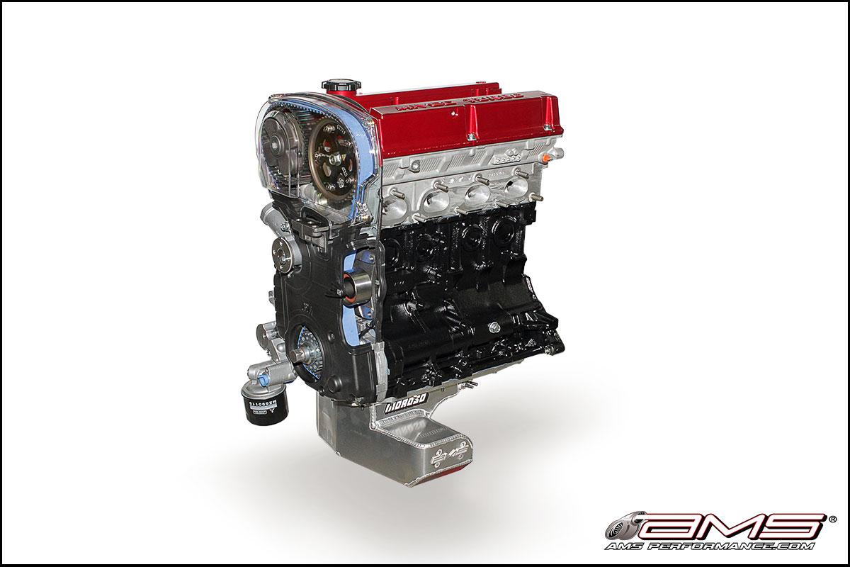 AMS Mitsubishi Lancer Evolution VIII/IX 2.3 Stroker Crate Motor