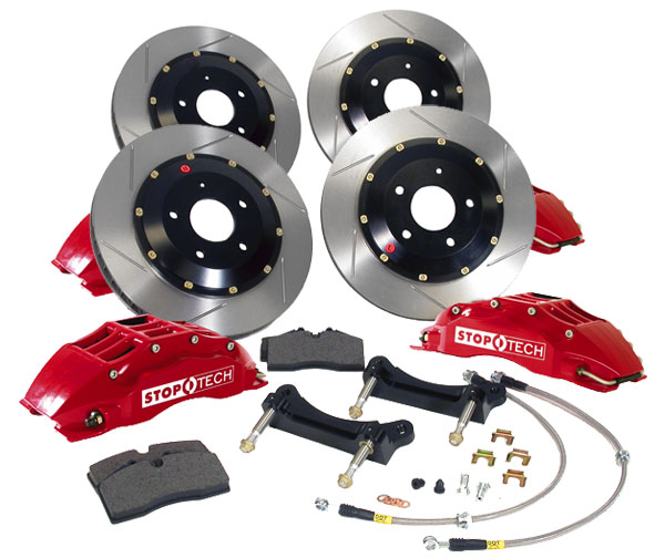 Stoptech BMW 335i Big Brake Kit - Front & Rear