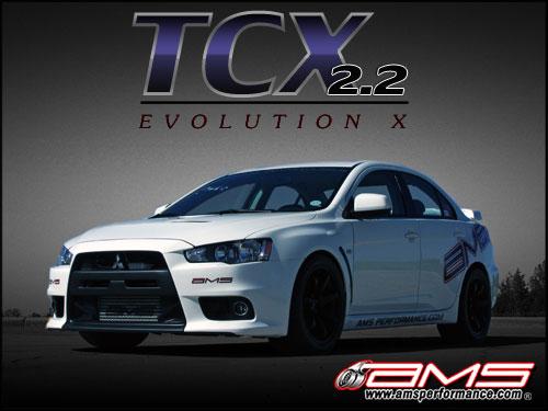 AMS Mitsubishi Lancer Evolution TCX Package