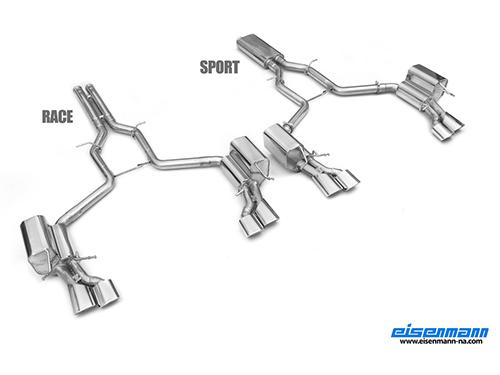 Eisenmann 08-13 Mercedes C63 AMG (W204) Exhaust System [D7267.01204]