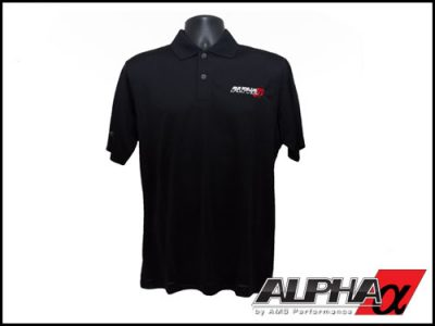 AMS ALPHA IZOD XFG Golf Pique Polo