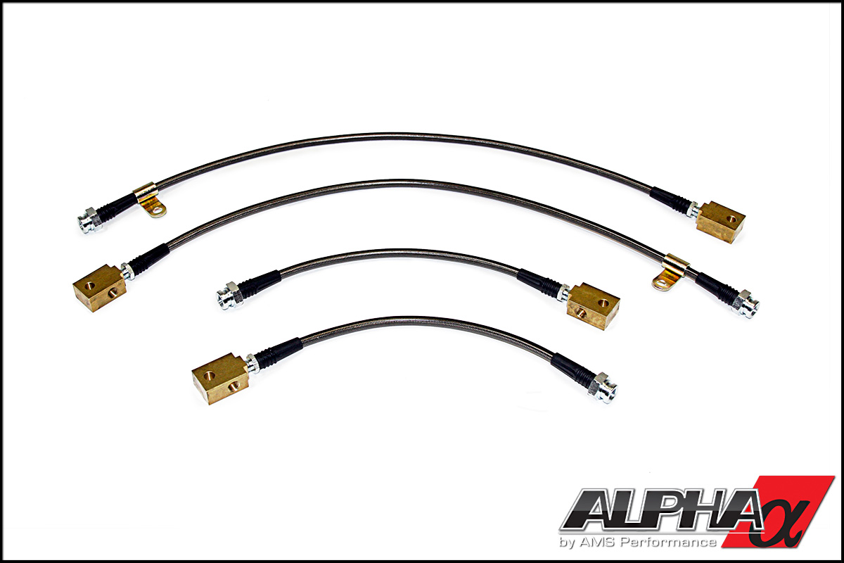 Alpha Performance R35 GT-R Race Style SS Brake Lines