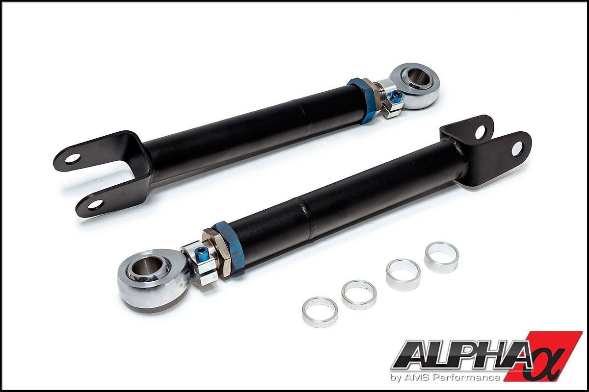 SPL Pro Suspenson Nissan R35 GT-R Titanium Rear Toe Links [SPL RTA R35]