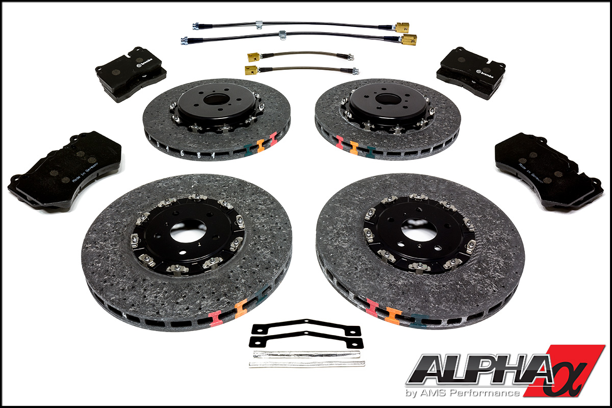 Mercedes Benz Brake Pads And Rotors >> Alpha R35 GT-R Carbon Ceramic Brake Package
