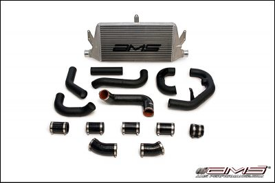 "AMS 04-07 Sti/WRX Front Mount Intercooler w/ 2.5"" Piping"