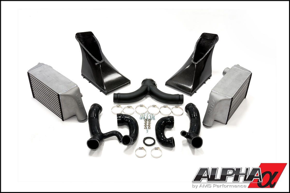 Alpha Performance Porsche 997.1TT Intercooler Kit