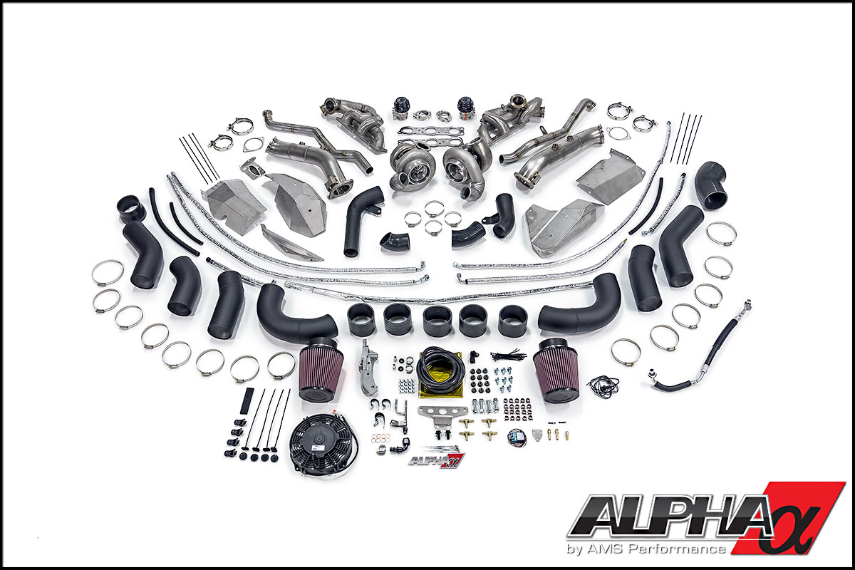 Alpha 16 R35 GT-R Turbo Kit