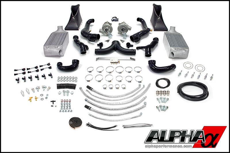 Alpha 9 Porsche 997.1TT Turbo Kit