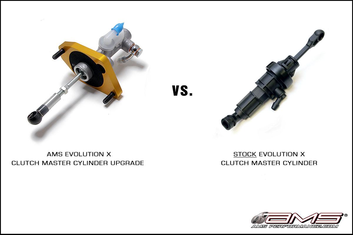 AMS Mitsubishi Lancer Evolution X Clutch Master Cylinder Upgrade Kit