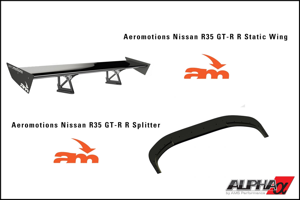 Alpha  Performance Spec R35 GT-R Aeromotions Track Package