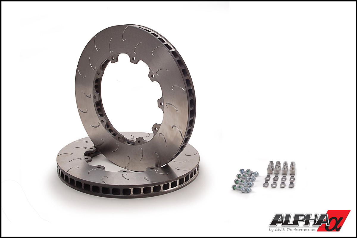 AP Racing Rear J-Hook Replacement Rotors (2009-2014 R35 GT-R)
