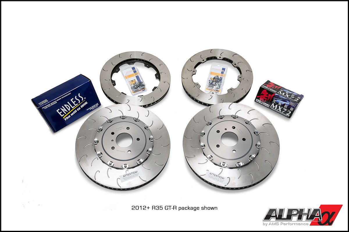 Alpha Spec R35 GT-R Street & Track Brake Package