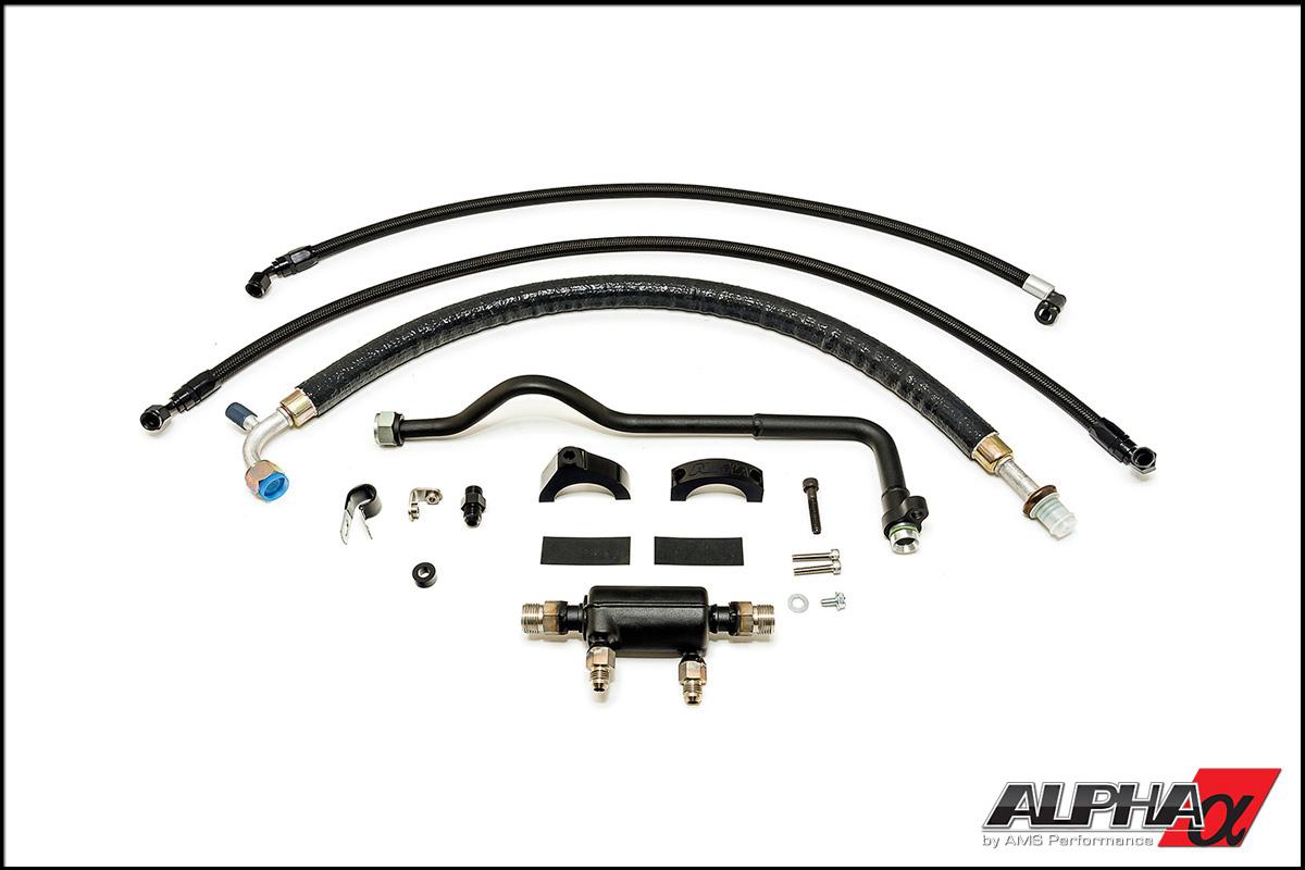 AMS Performance Alpha GT-R Fuel Cooler System