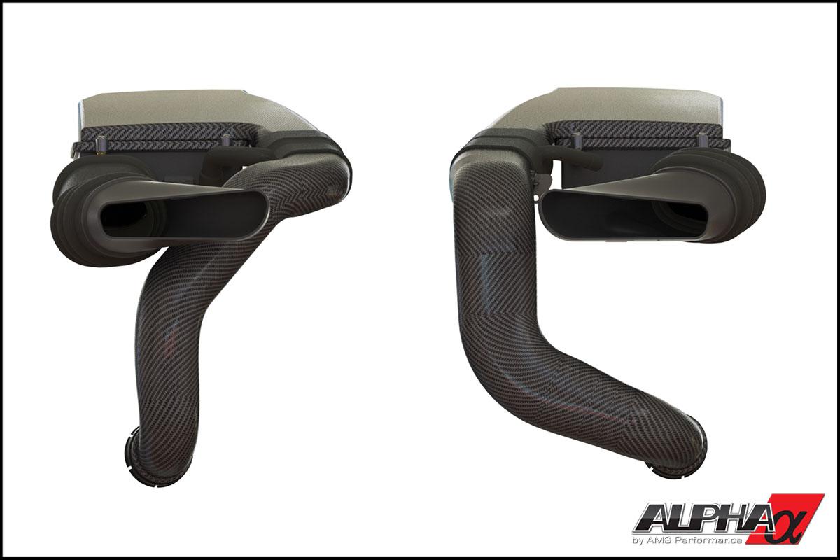 Alpha Mercedes 5.5L Biturbo Carbon Fiber Intake System