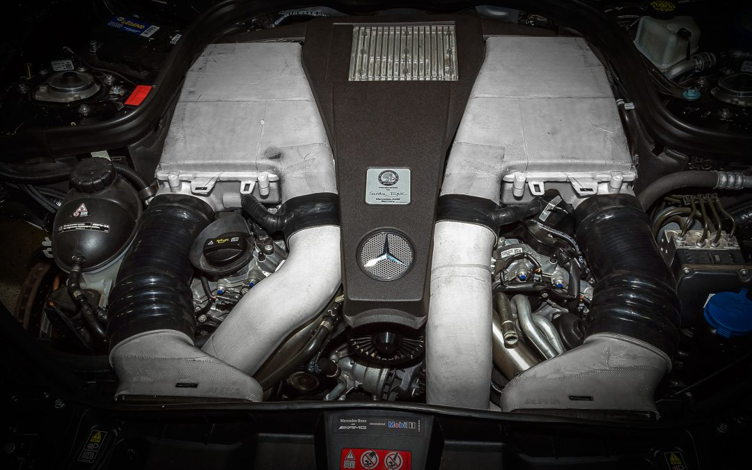 3D Test Fit of Alpha Mercedes 5.5L Biturbo Carbon Fiber Intake Complete!