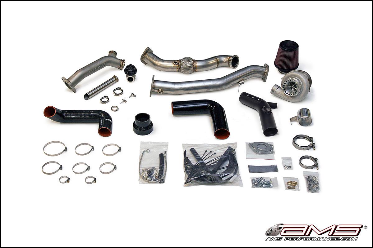 AMS Performance 2008 Subaru STI V-Band Turbo Kit