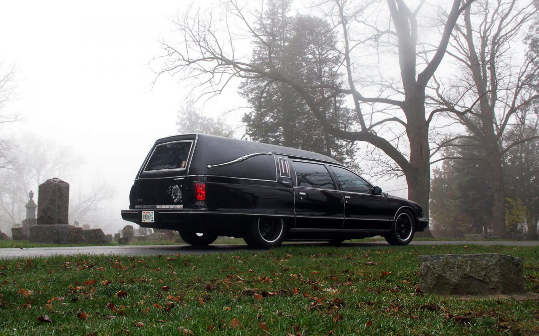 "AMS ""Madness"" Hearse Makes its Rounds This Halloween!"