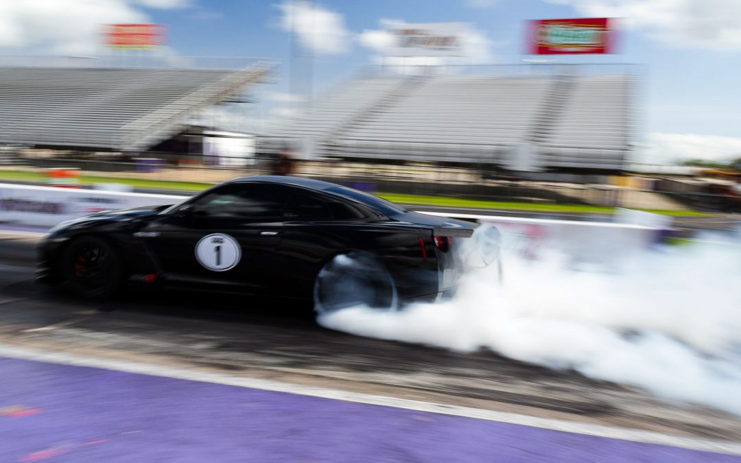 Alpha Omega Resets the GT-R 1/4 Mile Record!