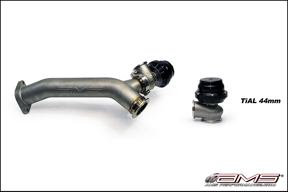Subaru Up Pipe with 44mm Tial MV-R Wastegate