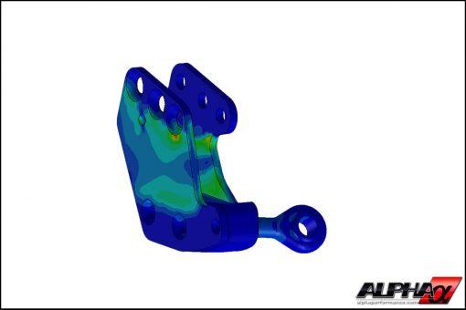 "Alpha Performance R35 GT-R Knuckle Conversion Kit for 15"" Drag Wheels"