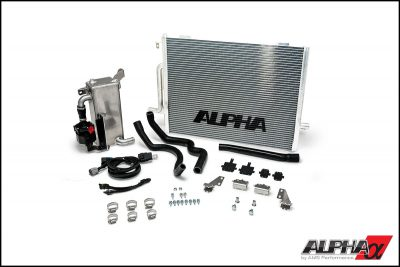 Alpha Performance Audi S4 B8 Supercharger Cooler System