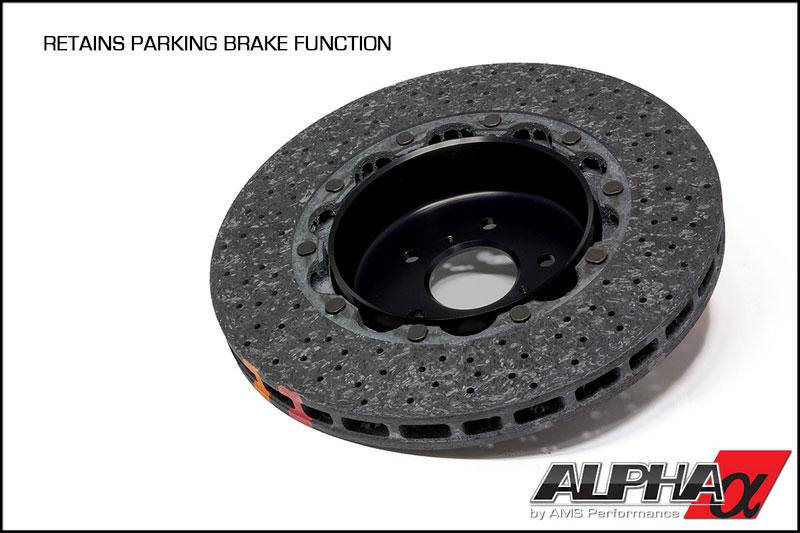 Alpha R35 Gt R Carbon Ceramic Brake Package