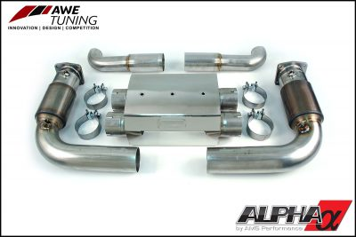 AWE Tuning Porsche 997 Turbo Performance Exhaust System