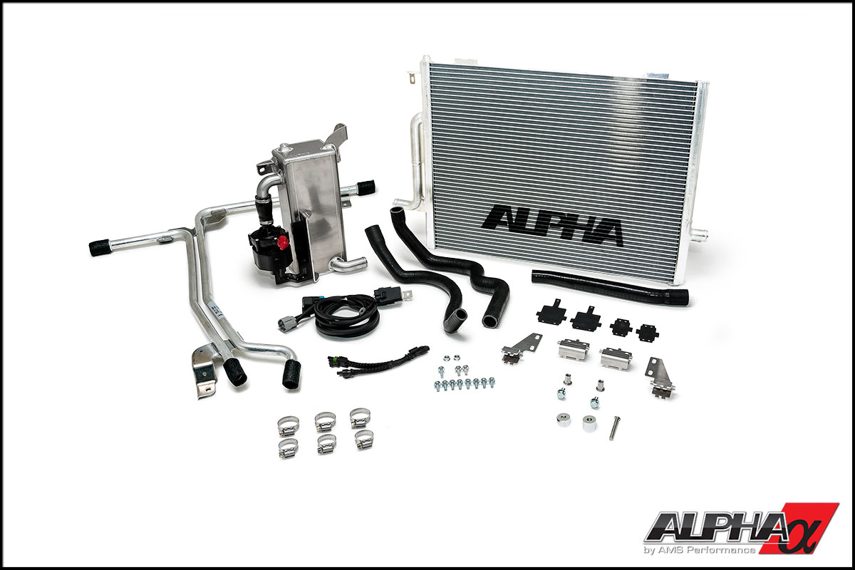 Alpha Audi B85 S4 Supercharger Cooler System