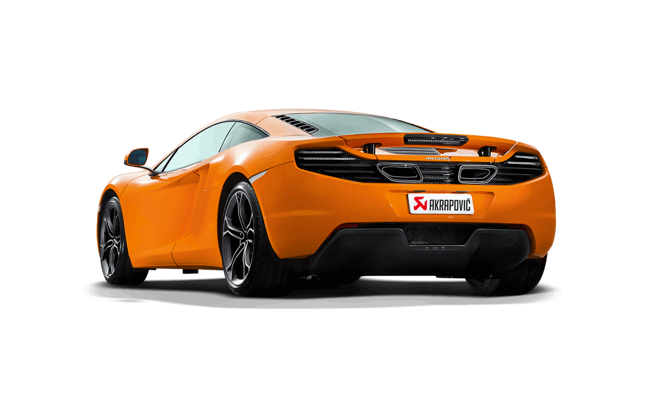 akrapovic mclaren mp4 12c titanium slip on exhaust system s mc ti 1. Black Bedroom Furniture Sets. Home Design Ideas