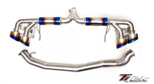 TiTek 2009+ Nissan R35 GT-R 90mm Titanium Race Exhaust [NIS-50007]