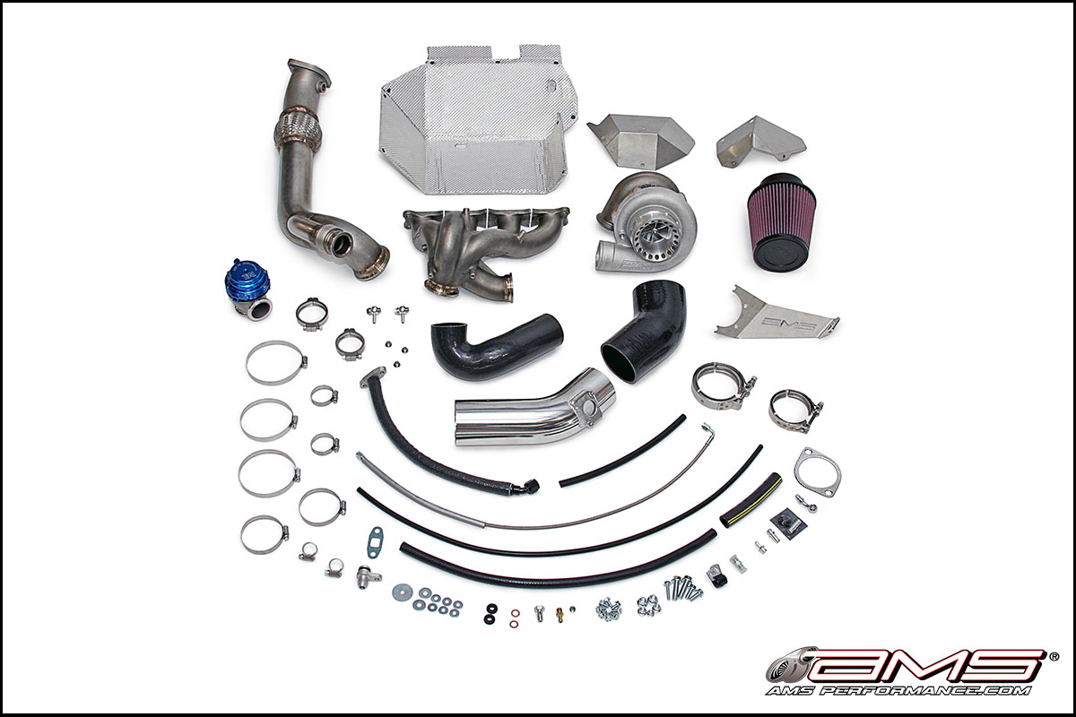 AMS Performance Mitsubishi Evolution X V-Band Turbo Kit