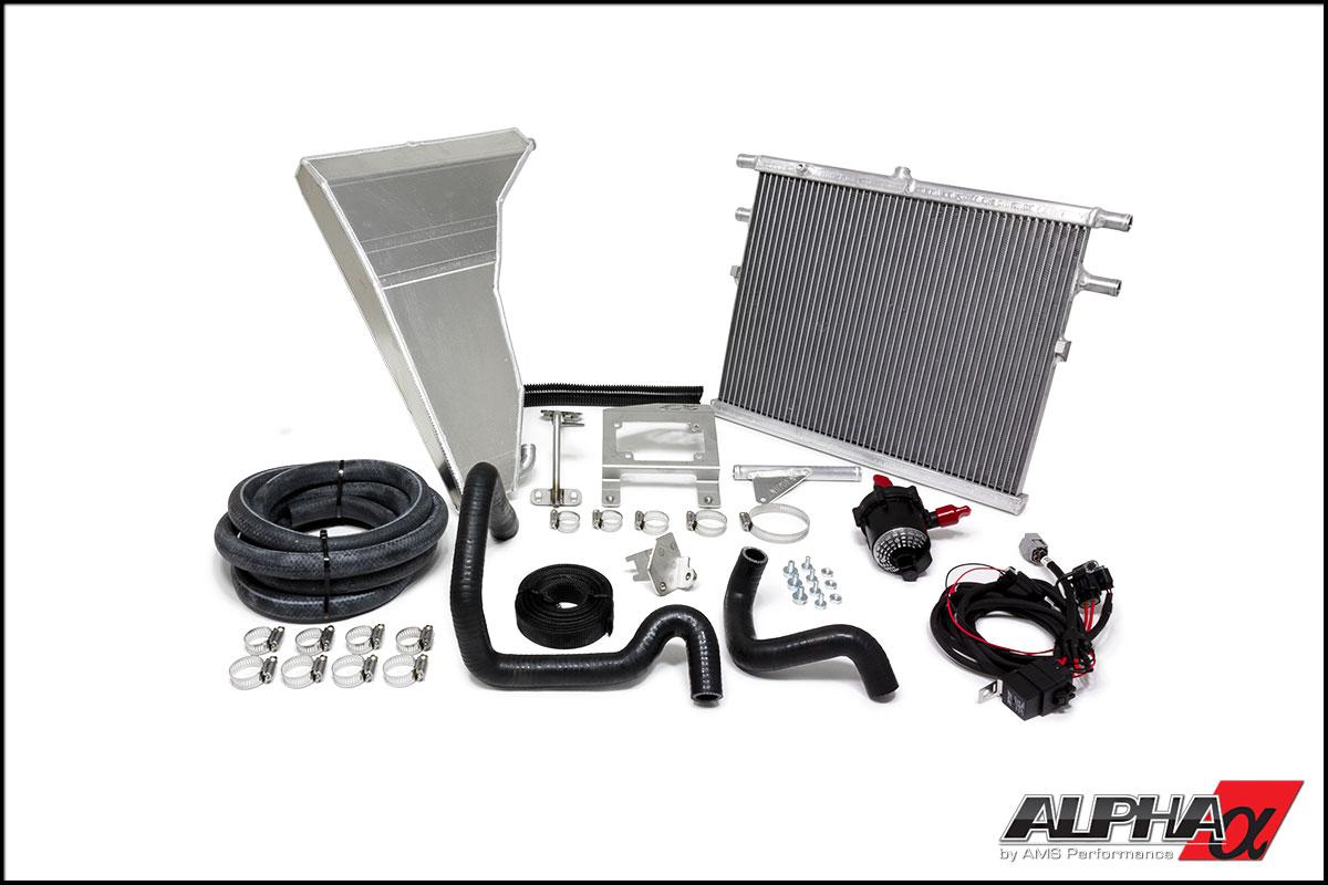 Alpha Performance Mercedes 5.5L Biturbo Boost Cooler System