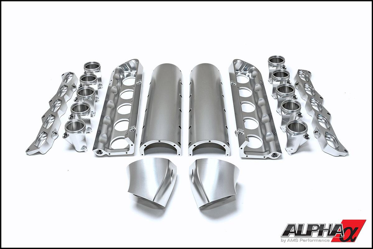 Alpha Audi R8 V10 Twin Turbo Billet Intake Manifold