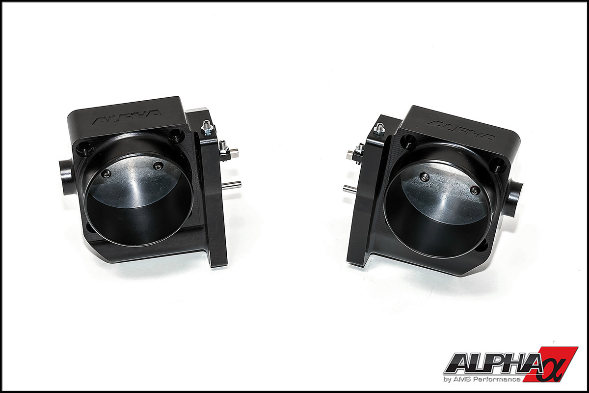 Alpha Performance R35 GT-R Wide Bore Throttle Bodies