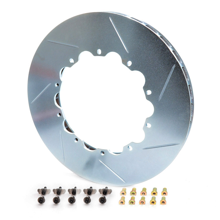 GiroDisc Porsche 997 Turbo (NON-PCCB) Front 350mm Rotor Ring Replacements [D1-032]