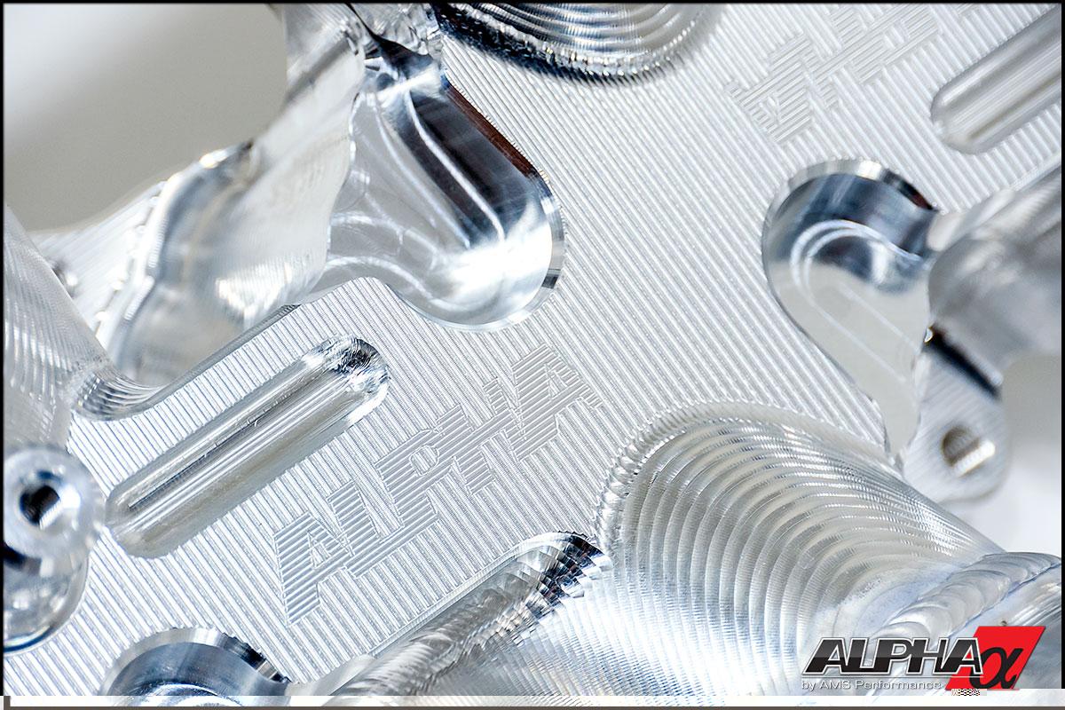 Alpha Performance R35 Gt R Carbon Fiber Intake Manifold