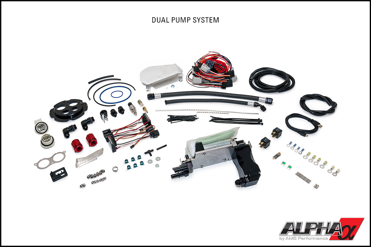 Alpha Performance R35 GT-R Omega Brushless Fuel Pump System