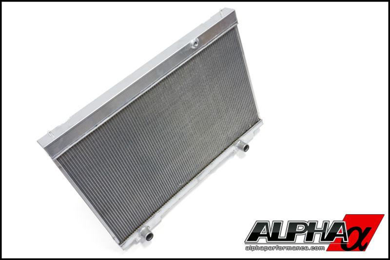 Alpha Performance R35 GT-R Dual Pass Radiator Upgrade